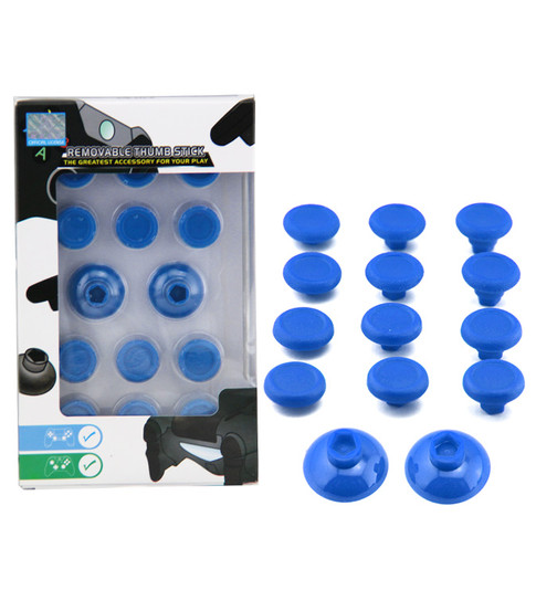 PS4 / Xbox One Thumbstick Kit Set 14 in 1 - blau