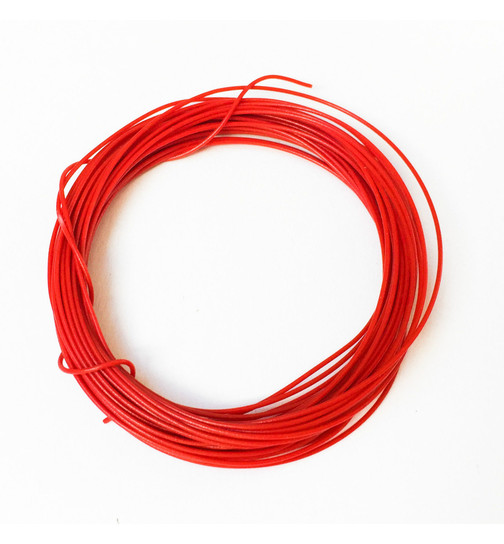 Wire Wrapping Wire AWG 30 rot 1m