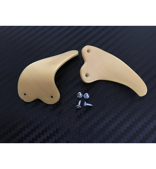 Shark teeth Paddles kompatibel zu PS4 Controller - (gold)